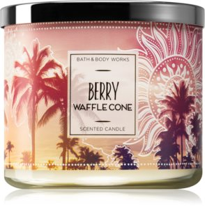 Bath & Body Works Berry Waffle Cone scented candle