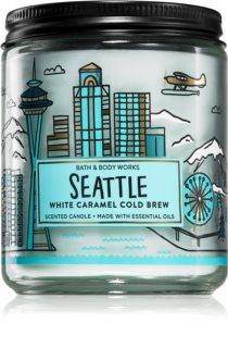 Bath & Body Works White Caramel Cold Brew αρωματικό κερί