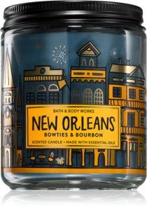 Bath & Body Works Bow Ties & Bourbon αρωματικό κερί