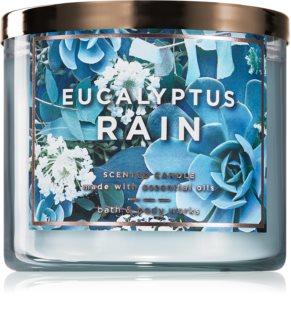 Bath & Body Works Eucalyptus Rain αρωματικό κερί ΙΙ.