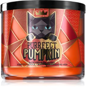 Bath & Body Works Purrfect Pumpkin αρωματικό κερί