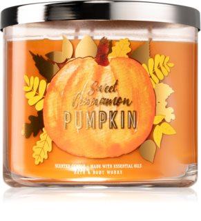 Bath & Body Works Sweet Cinnamon Pumpkin scented candle III