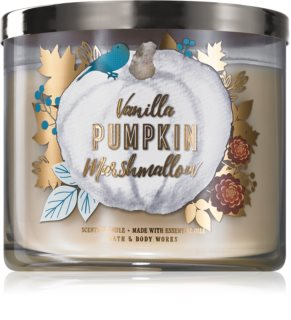 Bath & Body Works Vanilla Pumpkin Marshmallow αρωματικό κερί Ι.