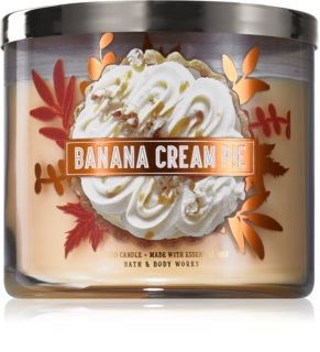Bath & Body Works Banana Cream Pie vonná svíčka