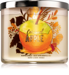 Bath & Body Works Caramel Apple scented candle