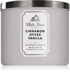 Bath & Body Works Cinnamon Spiced Vanilla geurkaars