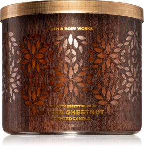 Bath & Body Works Spiced Chestnut geurkaars