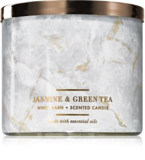 Bath & Body Works Jasmine & Green Tea vonná svíčka