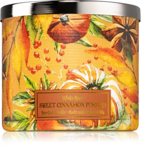 Bath & Body Works Sweet Cinnamon Pumpkin geurkaars