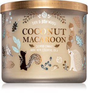 Bath & Body Works Coconut Macaroon bougie parfumée