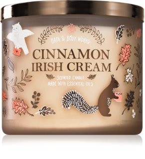 Bath & Body Works Cinnamon Irish Cream vonná svíčka