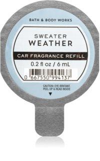 Bath & Body Works Sweater Weather mirisi za auto zamjensko punjenje