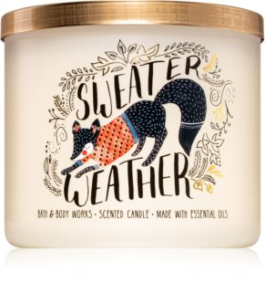 Bath & Body Works Sweater Weather duftkerze  II.