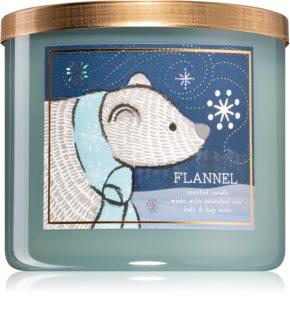 Bath & Body Works Flannel vela perfumada V.