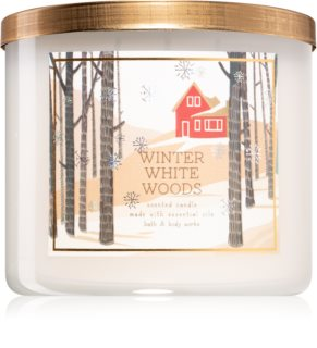 Bath & Body Works Winter White Woods bougie parfumée