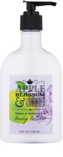 Bath & Body Works Apple Blossom & Lavender leite corporal para mulheres 236 ml