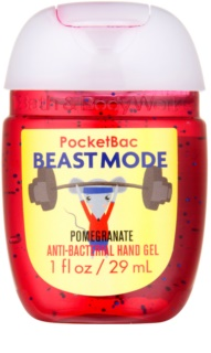 Bath & Body Works PocketBac Beastmode Pomegranate antibakteriální gel na ruce