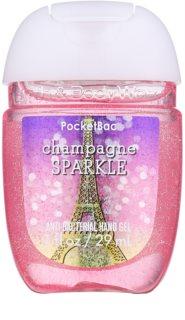 Bath & Body Works PocketBac Champagne Sparkle antibakteriální gel na ruce