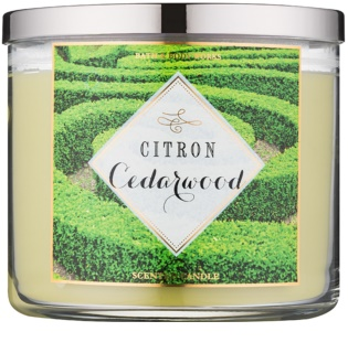 Bath & Body Works Citron Cedarwood Duftkerze  411 g