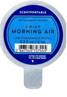 Bath & Body Works Crisp Morning Air deodorante per auto 6 ml ricarica