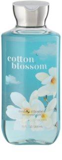 Bath & Body Works Cotton Blossom Duschgel für Damen 295 ml