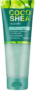 Bath & Body Works Cocoshea Cucumber Body Scrub for Women 226 g