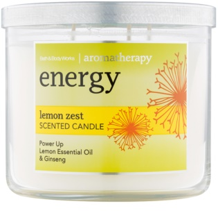 Bath & Body Works Energy Lemon Zest Duftkerze  411 g