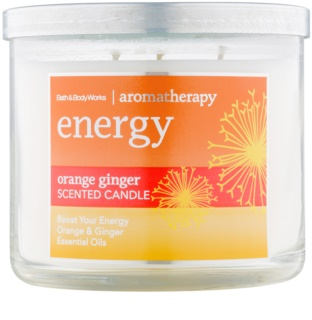 Bath & Body Works Energy Orange Ginger dišeča sveča  411 g