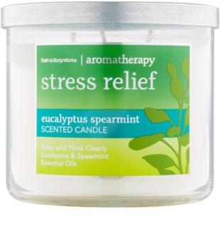 Bath & Body Works Stress Relief Eukalyptus Spearmint Duftkerze  411 g