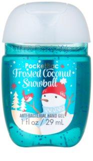 Bath & Body Works PocketBac Frosted Coconut Snowball antibakteriální gel na ruce