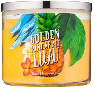 Bath & Body Works Golden Pineapple Luau vonná svíčka 411 g