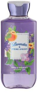 Bath & Body Works Lavander & Spring Apricot Τζελ για ντους για γυναίκες 295 μλ