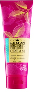 Bath & Body Works Lemon Pomegranate krema za telo za ženske 226 g