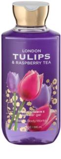 Bath & Body Works London Tulips & Raspberry Tea Douchegel voor Vrouwen  295 ml