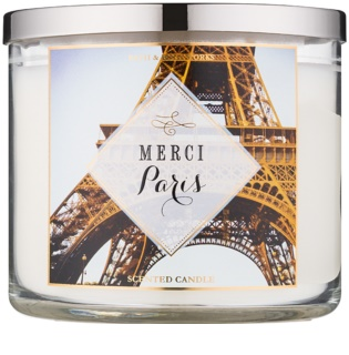 Bath & Body Works Merci Paris Scented Candle 411 g