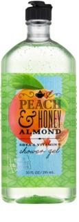 Bath & Body Works Peach & Honey Almond Shower Gel for Women 295 ml