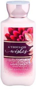 Bath & Body Works A Thousand Wishes testápoló tej nőknek 236 ml