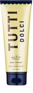 Bath & Body Works Tutti Dolci Sweet Lemon Buttercup creme corporal para mulheres 226 g