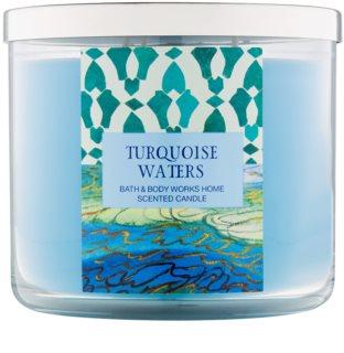 Bath & Body Works Turquoise Waters Duftkerze  411 g