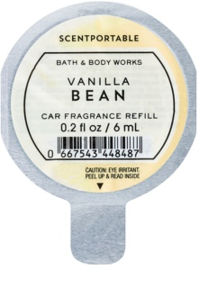Bath & Body Works Vanilla Bean illat autóba 6 ml