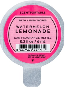 Bath & Body Works Watermelon Lemonade ambientador auto 6 ml recarga de substituição