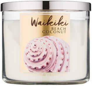 Bath & Body Works Waikiki Beach Coconut Scented Candle 411 g