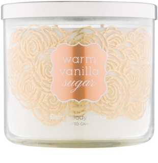 Bath & Body Works Warm Vanilla Sugar bougie parfumée 411 g