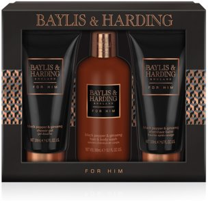 Baylis & Harding Men's Black Pepper and Ginseng set cosmetice II.