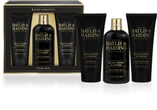 Baylis & Harding Men's Black Pepper and Ginseng подарунковий набір I.