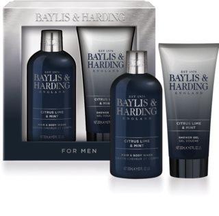 Baylis & Harding Men's Citrus Lime & Mint coffret cadeau II.