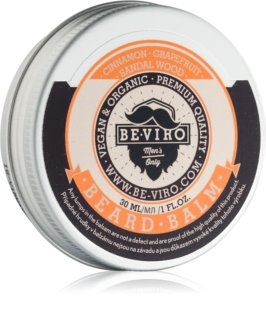 Be-Viro Men's Only Grapefruit, Cinnamon, Sandal Wood Beard Balm