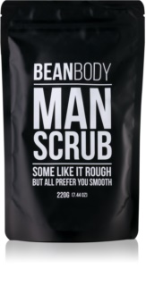 Bean Body Man Gladmakende Body Scrub  voor Mannen