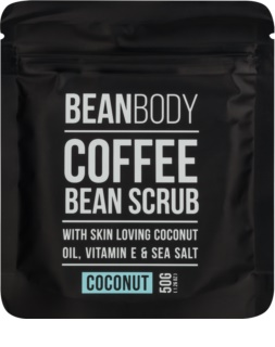 Bean Body Coconut glättendes Body-Peeling