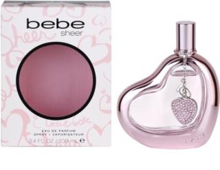 Bebe Perfumes Sheer Eau de Parfum voor Vrouwen  100 ml